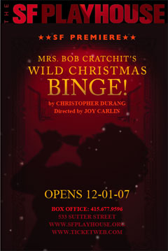 Mrs. Bob Cratchit's Wild Christmas Binge!