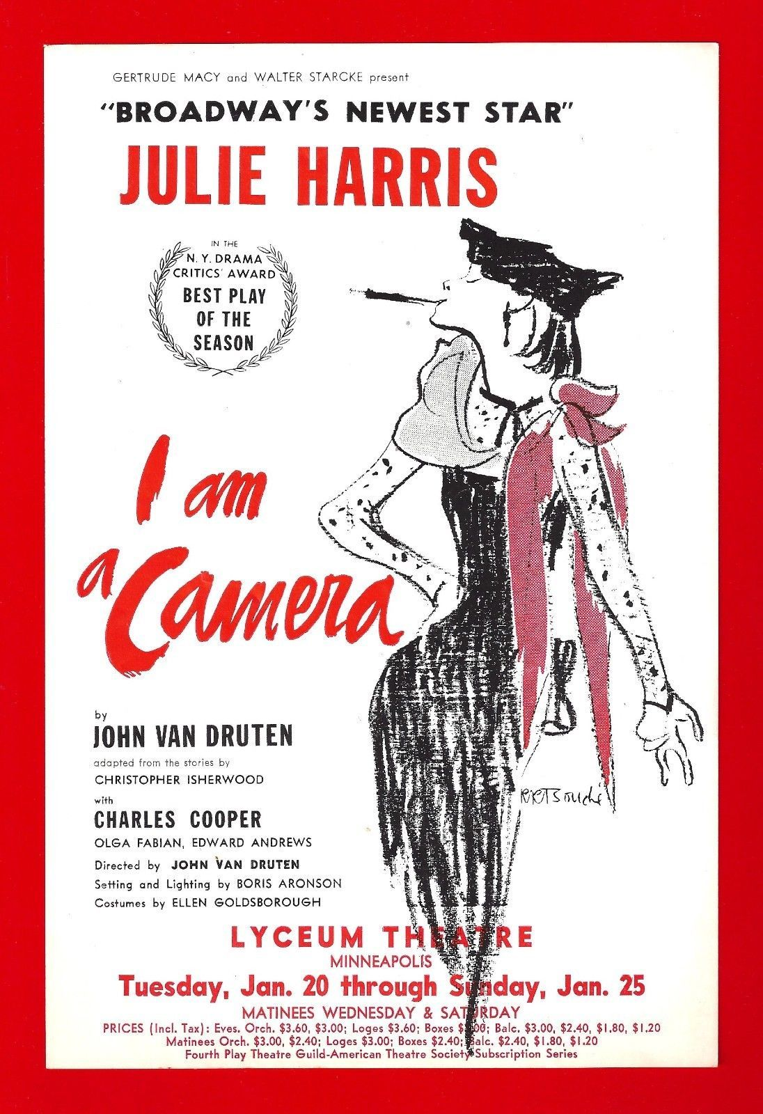 I Am A Camera by Christopher Isherwood