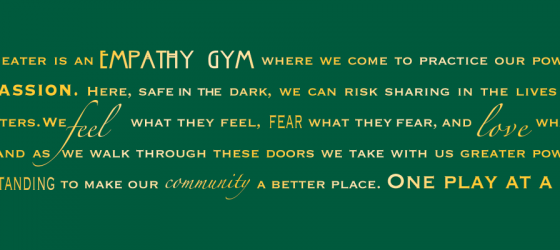 Notes from the Empathy Gym – April 2020