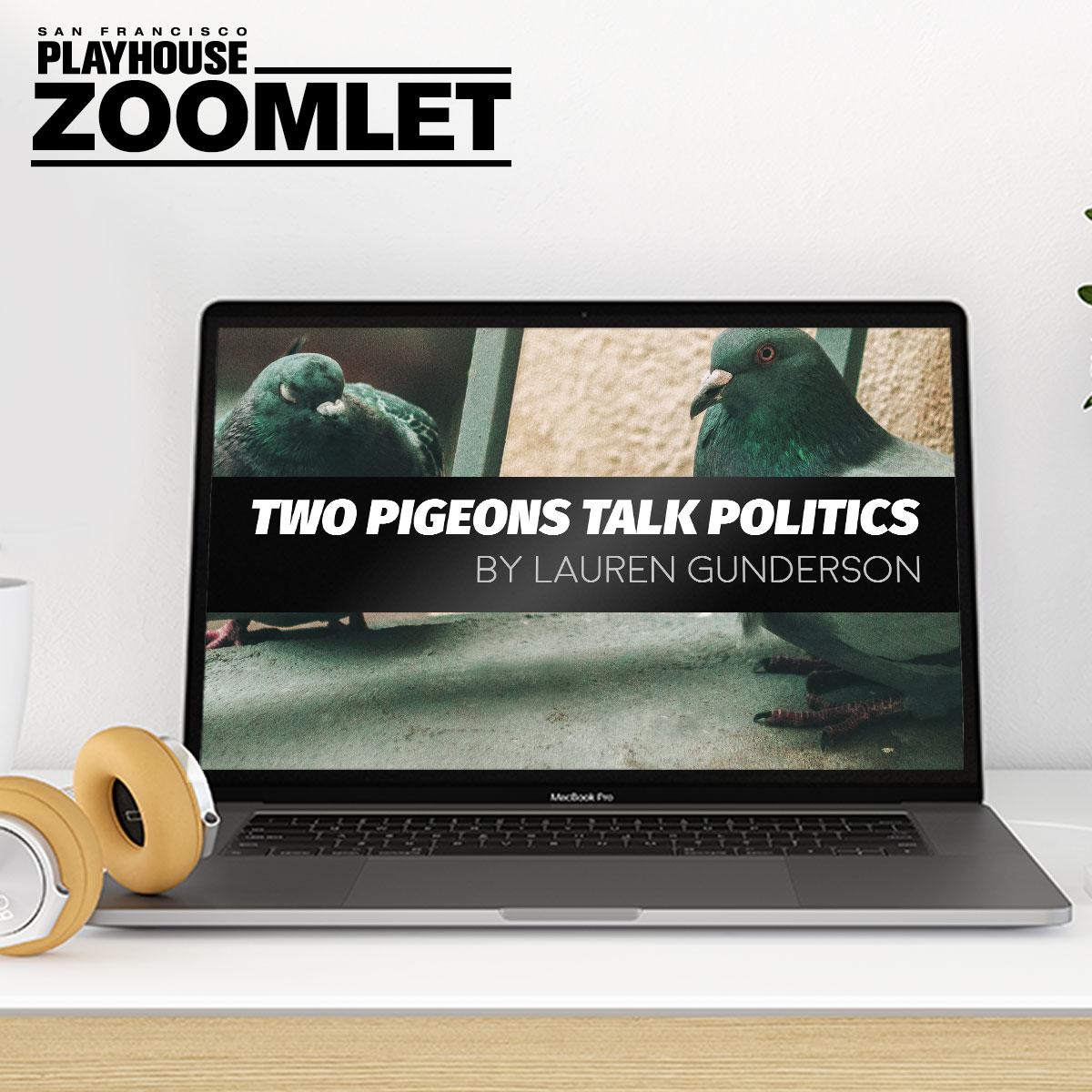 Two Pigeons Talk Politics