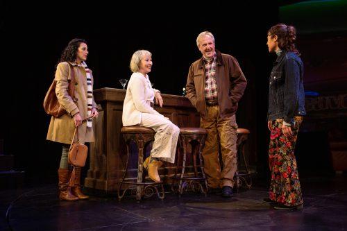 Ariel (Melissa Ortiz), Jackie (Lorri Holt), Len (Dan Hiatt), and Gabrielle (Blythe de Oliveira Foster) have a chance encounter in Lake Tahoe.
