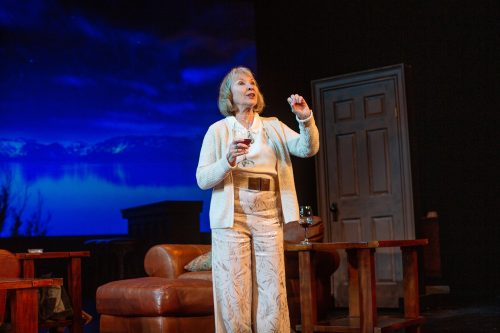 Jackie (Lorri Holt) reminisces about the old days.