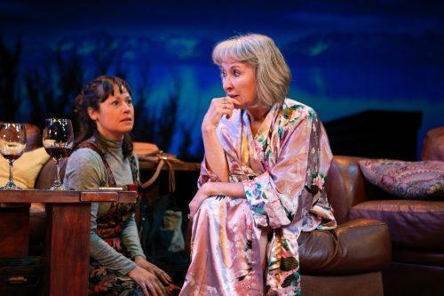 Gabrielle (Blythe de Oliveira Foster) helps her mother, Jackie (Lorri Holt).