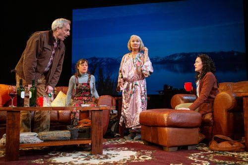 Len (Dan Hiatt), Gabrielle (Blythe de Oliveira Foster), Jackie (Lorri Holt), and Ariel (Melissa Ortiz) discuss Jackie's future.