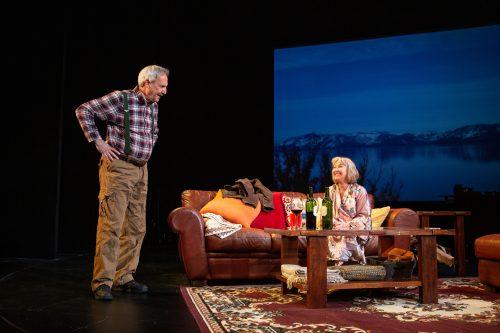 Len (Dan Hiatt) and Jackie (Lorri Holt) hit it off during Jackie's weekend getaway.