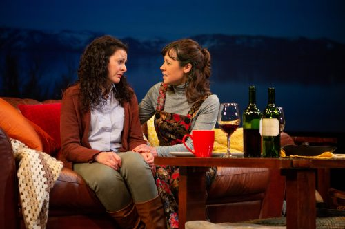 Gabrielle (Blythe de Oliveira Foster) and Ariel (Melissa Ortiz) try to figure out what to do about their mother.