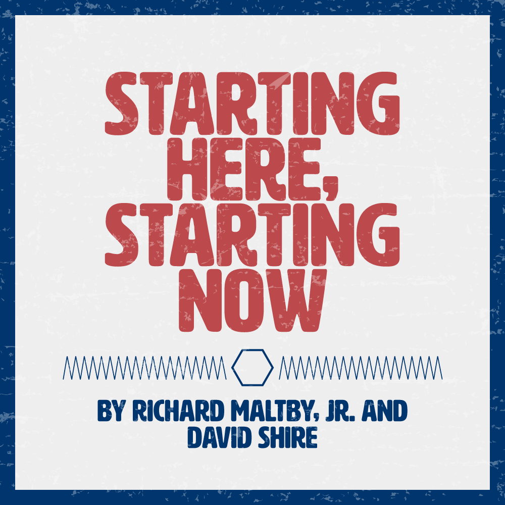 Starting Here, Starting Now poster