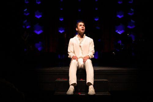 Wilson Jermaine Heredia* in Starting Here, Starting Now at San Francisco Playhouse.